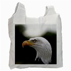 Bald Eagle (1) Recycle Bag (one Side) by smokeart