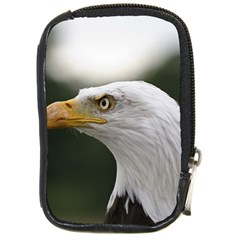 Bald Eagle (1) Compact Camera Leather Case by smokeart
