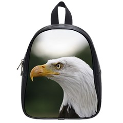 Bald Eagle (1) School Bag (small) by smokeart