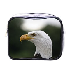 Bald Eagle (1) Mini Travel Toiletry Bag (one Side) by smokeart