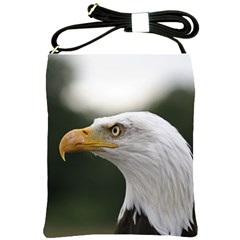 Bald Eagle (1) Shoulder Sling Bag by smokeart