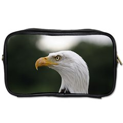 Bald Eagle (1) Travel Toiletry Bag (two Sides) by smokeart