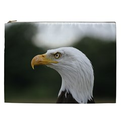 Bald Eagle (1) Cosmetic Bag (xxl) by smokeart