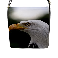 Bald Eagle (1) Flap Closure Messenger Bag (large) by smokeart