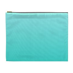 Celeste To Turquoise Gradient Cosmetic Bag (xl) by BestCustomGiftsForYou