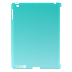 Turquoise To Celeste Gradient Apple Ipad 3/4 Hardshell Case (compatible With Smart Cover) by BestCustomGiftsForYou