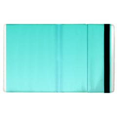 Turquoise To Celeste Gradient Apple Ipad 2 Flip Case by BestCustomGiftsForYou