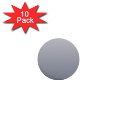 Gainsboro To Roman Silver Gradient 1  Mini Button (10 Pack) by BestCustomGiftsForYou