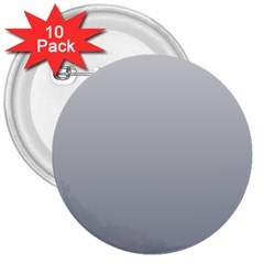 Gainsboro To Roman Silver Gradient 3  Button (10 Pack) by BestCustomGiftsForYou