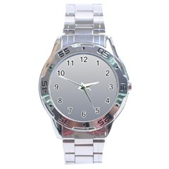 Gainsboro To Roman Silver Gradient Stainless Steel Watch (men s) by BestCustomGiftsForYou