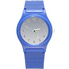 Roman Silver To Gainsboro Gradient Plastic Sport Watch (small)