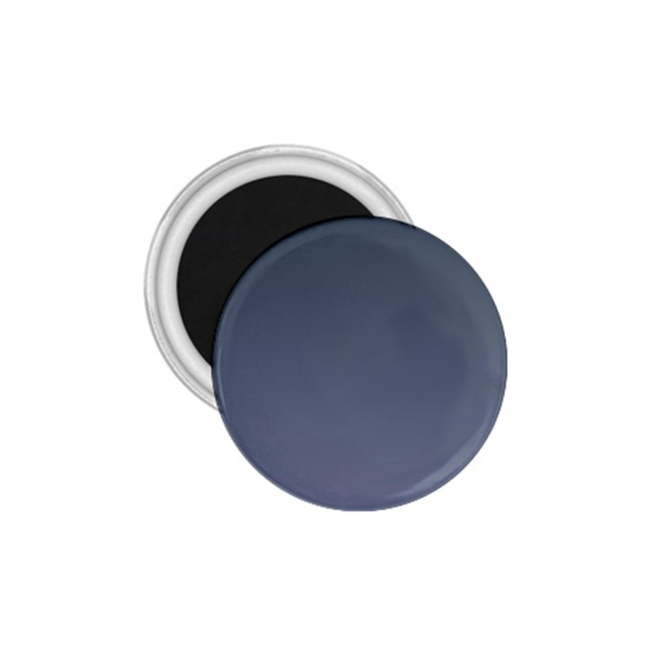 Charcoal To Cool Gray Gradient 1.75  Button Magnet