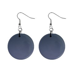 Charcoal To Cool Gray Gradient Mini Button Earrings by BestCustomGiftsForYou