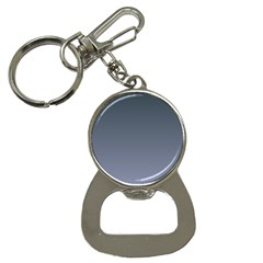 Charcoal To Cool Gray Gradient Bottle Opener Key Chain by BestCustomGiftsForYou