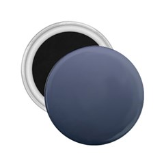 Cool Gray To Charcoal Gradient 2 25  Button Magnet by BestCustomGiftsForYou