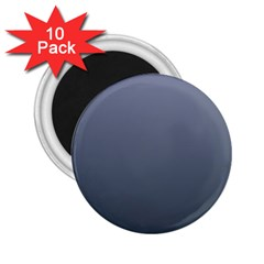 Cool Gray To Charcoal Gradient 2 25  Button Magnet (10 Pack) by BestCustomGiftsForYou