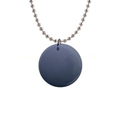 Cool Gray To Charcoal Gradient Button Necklace