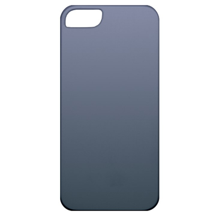 Cool Gray To Charcoal Gradient Apple iPhone 5 Classic Hardshell Case