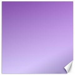 Lavender To Pale Lavender Gradient Canvas 12  X 12  (unframed) by BestCustomGiftsForYou