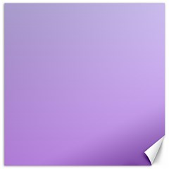 Pale Lavender To Lavender Gradient Canvas 12  X 12  (unframed) by BestCustomGiftsForYou