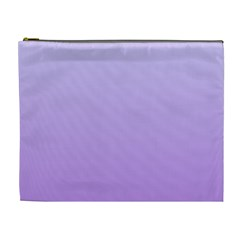 Pale Lavender To Lavender Gradient Cosmetic Bag (xl) by BestCustomGiftsForYou
