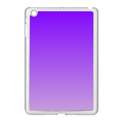 Violet To Wisteria Gradient Apple Ipad Mini Case (white)