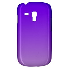 Violet To Wisteria Gradient Samsung Galaxy S3 Mini I8190 Hardshell Case by BestCustomGiftsForYou