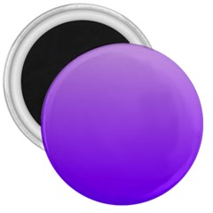 Wisteria To Violet Gradient 3  Button Magnet by BestCustomGiftsForYou