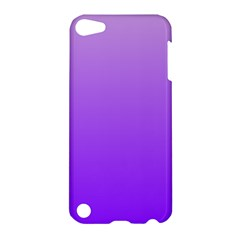 Wisteria To Violet Gradient Apple Ipod Touch 5 Hardshell Case by BestCustomGiftsForYou
