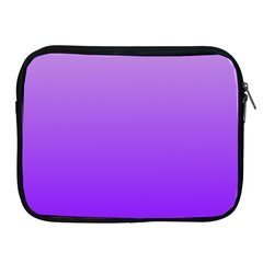 Wisteria To Violet Gradient Apple Ipad 2/3/4 Zipper Case by BestCustomGiftsForYou