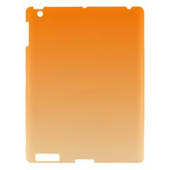 Orange To Peach Gradient Apple Ipad 3/4 Hardshell Case by BestCustomGiftsForYou