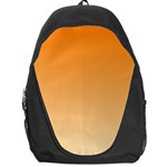 Orange To Peach Gradient Backpack Bag Front