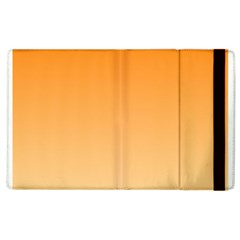 Orange To Peach Gradient Apple Ipad 3/4 Flip Case by BestCustomGiftsForYou