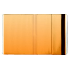 Peach To Orange Gradient Apple Ipad 3/4 Flip Case by BestCustomGiftsForYou