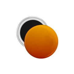 Amber To Mahogany Gradient 1 75  Button Magnet by BestCustomGiftsForYou