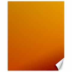 Amber To Mahogany Gradient Canvas 11  X 14  (unframed)