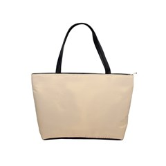 Champagne To Tan Gradient Large Shoulder Bag by BestCustomGiftsForYou