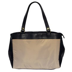 Tan To Champagne Gradient Oversize Office Handbag (one Side)