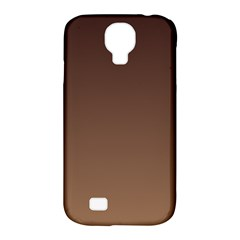 Seal Brown To Chamoisee Gradient Samsung Galaxy S4 Classic Hardshell Case (pc+silicone) by BestCustomGiftsForYou