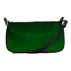 Dark Green To Green Gradient Evening Bag by BestCustomGiftsForYou