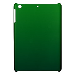 Green To Dark Green Gradient Apple Ipad Mini Hardshell Case by BestCustomGiftsForYou