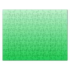 Pastel Green To Dark Pastel Green Gradient Jigsaw Puzzle (rectangle) by BestCustomGiftsForYou
