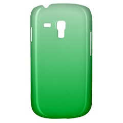 Pastel Green To Dark Pastel Green Gradient Samsung Galaxy S3 Mini I8190 Hardshell Case by BestCustomGiftsForYou