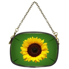 Sunflower Chain Purse (two Side)
