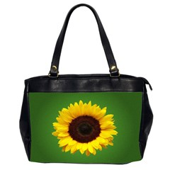 Sunflower Oversize Office Handbag (two Sides)