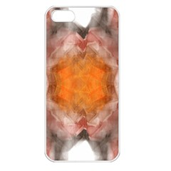 Seamless Background Fractal Apple Iphone 5 Seamless Case (white) by hlehnerer