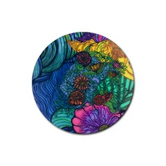 Beauty Blended Drink Coasters 4 Pack (round) by JacklyneMae