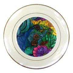 Beauty Blended Porcelain Display Plate