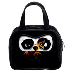 The Hidden Panda Classic Handbag (two Sides) by Contest1716449
