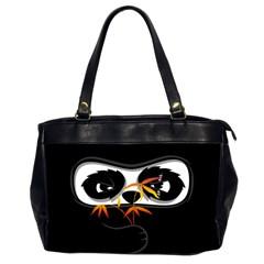 The Hidden Panda Oversize Office Handbag (two Sides) by Contest1716449